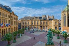 La place d'Armes à Metz