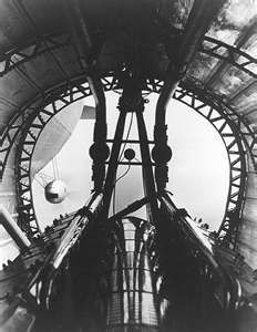 Interior of the Engine Car of the Hindenburg Airship