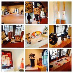 Una selezione degli splendidi pezzi unici realizzati dalle mani sapienti degli artigiani di Confartigianato Artistico