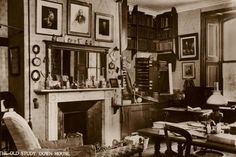 The Old Study, Down House, Downe, Kent Photographic Print