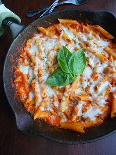 Culinary Couture: Skillet Baked Penne