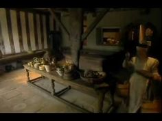 A Tudor Feast - Part 1 of 4. Ruth Goodman, Alex Langlands, and Peter Ginn spend three days in a period kitchen recreating a feast from 1590.