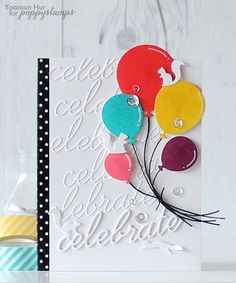 Blog Blitz Featuring Celebration Balloonsby the Poppystamps Design Team