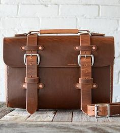 No. 29 Redford Leather Satchel