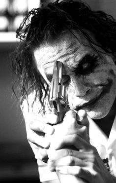 Heath Ledger as The Joker. One of the best performances I have ever seen.