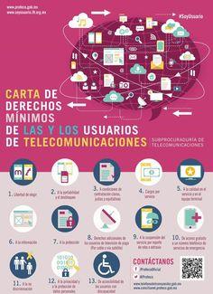 Carta de derechos mínimos de los usuari@s de telecomunicaciones