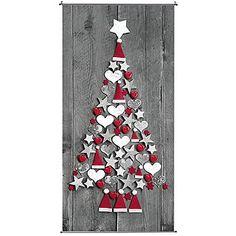 """Deko Banner """"Weihnachtsbaum"""" 200 cm lang & Dekoration bei DekoWoerner"""
