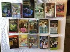 Lot of 16 Cozy Mysteries, Paperback, Excellent Shape! Free Priority S&H!!!