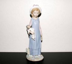 Lladro Belinda with Her Doll 5045 Porcelain Figurine Flawless w Original Box | eBay