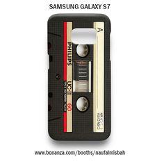 Vintage Cassette Tape Samsung Galaxy S7 Case Cover Wrap Around
