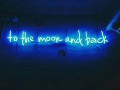 """reversedbeat: """" """"to the moon and back"""" Blue Aesthetic // More Here """" Light Blue Aesthetic, Aesthetic Colors, Aesthetic Pictures, Blue Aesthetic Tumblr, Love Blue, Blue And White, Dark Blue, Tumblr Neon, Neon Azul"""