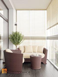 балкон со стороны парка. мебель такая и пол. утеплить