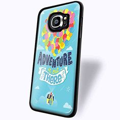 Disney up Quotes the Adventure Is Out There for Iphone and Samsung (Samsung Galaxy S6 edge black)