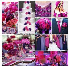 Pink And Blue Wedding Weddings Plum 2017 Dream