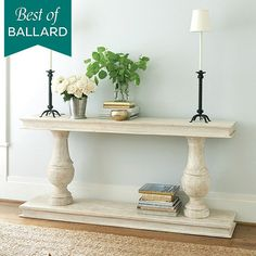 """Andrews Serving Table.  72"""" w x 15""""d"""