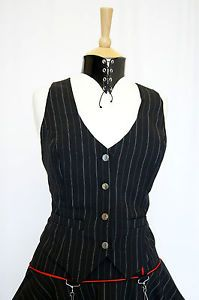 steampunk victorian lady   Ladies-Tailored-Waistcoat-Fitted-Goth-Victorian-Steampunk-Equestrian ...