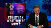 You Stuck What Where Now? - The Monsanto Protection Act - The Daily Show - Video Clip | Comedy Central