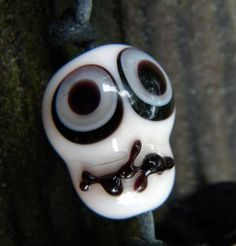 #Glass #bead for Halloween
