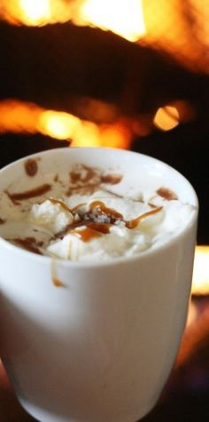 Italian hot chocolate...sounds divine and the recipe is one she has perfected over the years. Receives rave reviews!
