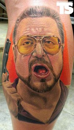 the-big-lebowski-tattoos-and-body-art-and-movies-on-pinterest-with-regard-to-the-big-lebowski-tattoo.jpg (579×1024)