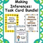 Inference practice!  Save when you buy all 3 inference products together!  Task cards are a fun way to help students strengthen their inferencing s...