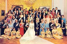 Richard, 6th Prince of the Royal House of Sayn-Wittgenstein-Berleburg, wed Princess Benedikte of Denmark on 3 February 1968. As she and her two daughters, Alexandra and Nathalie, have access to many of the tiaras of Denmark, there's a fair few of those in with those of SWB.