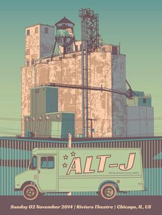 Alt-J Tour Poster Chicago on Behance