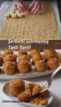Şerbetli Görmemişin Tatlı Tarifi – Tatlı tarifleri – Las recetas más prácticas y fáciles Easy Desserts, Delicious Desserts, Yummy Food, Cake Recipe Using Buttermilk, Fingers Food, Cookie Recipes, Dessert Recipes, Turkish Recipes, Chocolate Recipes