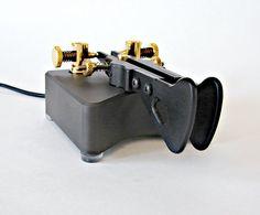 Begali Simplex Professional Iambic Paddle Morse Key by montanaman1, via Flickr
