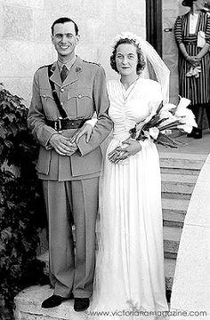 1940 Vestidos de Novia a través de las décadas.
