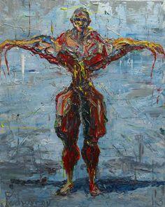 UNTITLED m655   -by David Padworny   #Original #Painting (Oil painting) #Art #Drawing