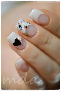valentine #nail #nails #nailart #unha #unhas #unhasdecoradas