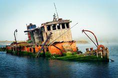*ABANDONED ~ Oregon Ship Wreck