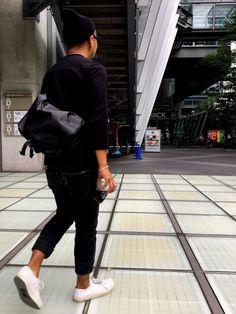 TaNI|THE NORTH FACEのメッセンジャーバッグを使ったコーディネート - WEAR