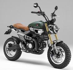 – Honda Grom 50 Scrambler Concept Motorcycles   Tokyo Motor Show