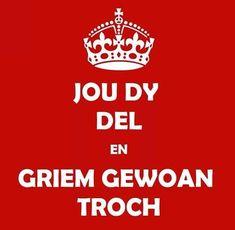 """""""Frysk"""". NL: Blijf rustig en gewoon door blijven 'worstelen' !"""