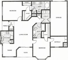Two Bedroom Apartment Interior - https://apartmentsjerseyvillagetx.com/two-bedroom-apartment-interior/