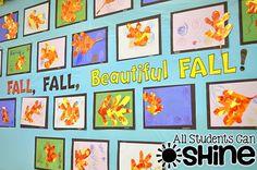 Fall Leaves ART Project