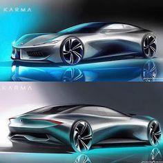 Future Concept Cars, Future Car, Car Design Sketch, Car Sketch, Karma, City Car, Futuristic Cars, Expensive Cars, Modified Cars