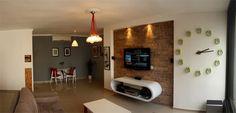 Creative first apartment design in Tel Aviv Israel Apartment Makeover, Apartment Renovation, Apartment Design, Apartment Entrance, Studio Apartment, Apartment Ideas, Tel Aviv, Interior And Exterior, Interior Design