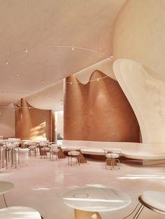 Restaurant Interior Design, Home Interior, Interior Architecture, Amazing Architecture, Cafe Restaurant, Cafe Bar, Modern Restaurant, Sweet Cocktails, Cocktail Recipes
