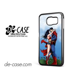 Center Camera Superman And Wonderwoman DEAL-2486 Samsung Phonecase Cover For Samsung Galaxy S6 / S6 Edge / S6 Edge Plus