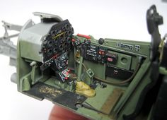 BarracudaCals 1/32 scale P-51D Mustang Cockpit stencils and placards review by Rodger Kelly: Image