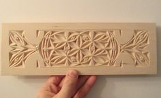 chip carving design by Ales the woodcarver