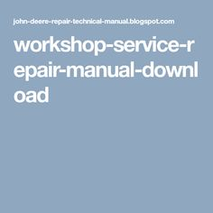 Repair manual john deere 3100 3200 3200x 3300 3300x 3400 3400x workshop service repair manual download fandeluxe Choice Image
