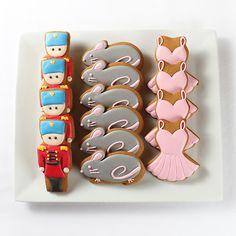 Nutcracker Themed Cookies