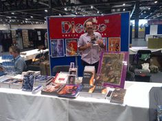 Our founder introducing Desdemona Metus, the new mystery-crime graphic novel. Comic Conventions, Crime, Mystery, Novels, Comics, Comic, Cartoons, Crime Comics, Cartoon