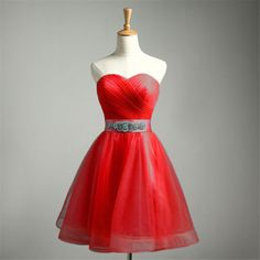 Sweetheart-Short-Mini-Formal-Prom-Cocktail-Ball-Evening-Party-Homecoming-Dresses