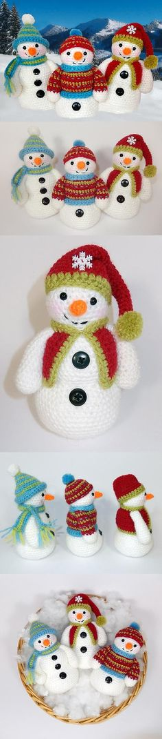 http://www.amigurumipatterns.net/shop/Moji-Moji-Design/Frosty-Freezy-and-Fred/