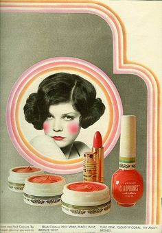 February- Use a vanity with make-up